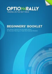 BEGINNERS' BOOKLET - Soup