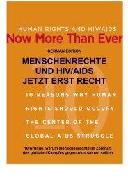 menschenrechte und hiv/aids jetzt erst recht - Open Society ...