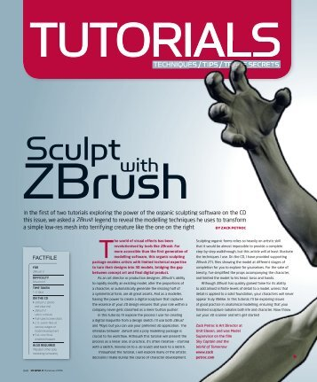 Sculpt ZBrush With