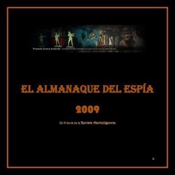 EL ALMANAQUE DEL ESPÍA 2009 - revista aainteligencia