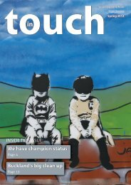 In Touch spring 2012 - Teign Housing