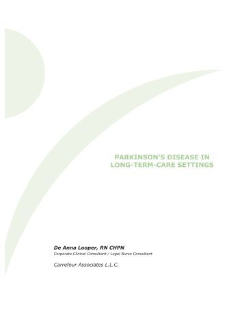 nursing care plan for parkinson s disease patient Abstract: patients with parkinson disease have prolonged motor and nonmotor symptoms affecting their ability to perform activities of daily living providers are tasked not only to provide quality care to afflicted patients but also to offer assistance to their informal caregivers who play a.