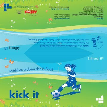 Mädchen erobern den Fußball - Wwwebgestaltung.de