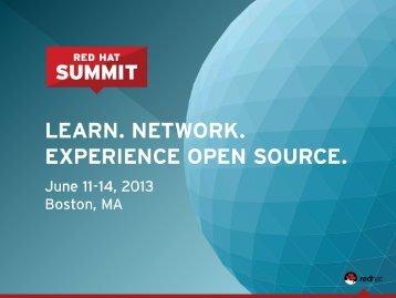 red hat storage server - Red Hat Summit