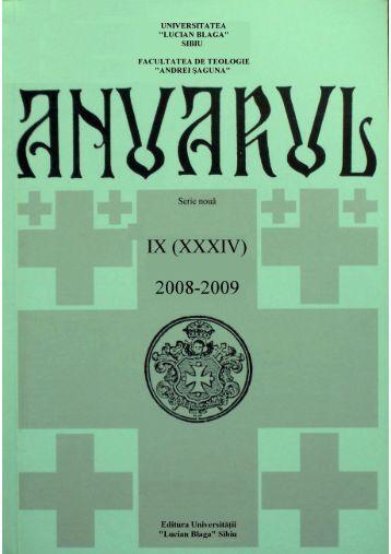 """Untitled - Facultatea de Teologie """"Andrei Saguna"""" - Universitatea ..."""