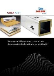 Catálogo de la gama URSA AIR