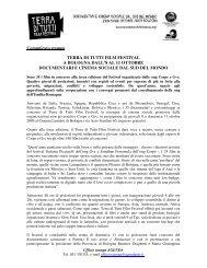 Terra di tutti film festival Terza edizione