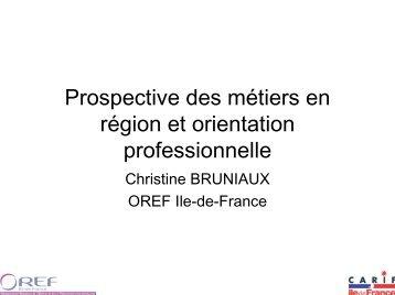 Estimations de besoins de recrutement en Ile-de-France : le ... - COE