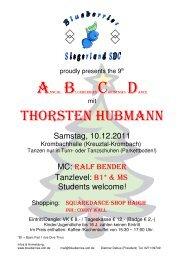 Flyer ABCD 2011 - Rhine Stone 666