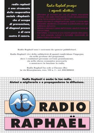 Allegato [pdf]: Frequenze Radio Raphaël - Fondazione Laudato Si