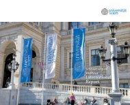International report of the University of Vienna 2010
