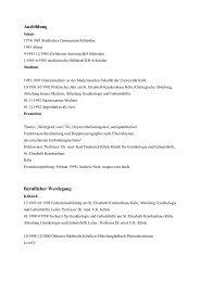 Curriculum Vitae Nicht barrierefrei, Sonstiges, PDF , 15.6 KB