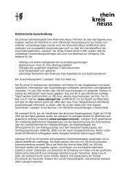 Elektronische Ausschreibung Nicht barrierefrei, Merkblatt, PDF ...