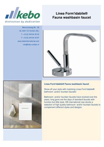 Fauna washbasin faucet_EN - Kebo