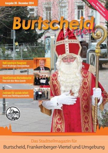 Burtscheid, Frankenberger-Viertel und Umgebung