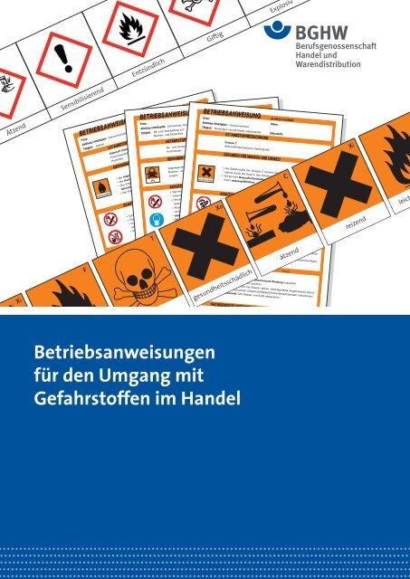 BerufsgenoГџenschaft FГјr Handel Und Warendistribution