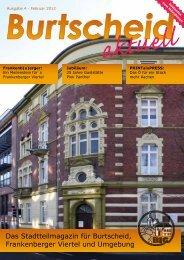 Das Stadtteilmagazin für Burtscheid, Frankenberger Viertel und Umgebung