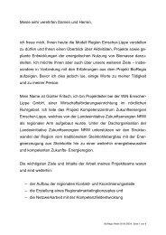 Biomasse-Fachtagung - Rhein-Erft-Kreis