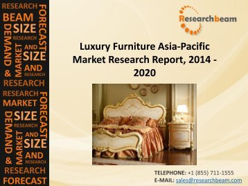 Luxury Furniture Asia-Pacific Market -2020