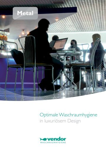 Optimale Waschraumhygiene in luxuriösem Design