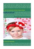Child Hair Bows - Suggestion For Acquiring The Perfect Bows - Page 2