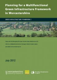 Worcestershire Green Infrastructure Framework 2 - South ...