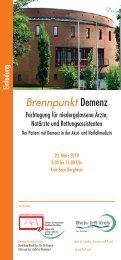 Brennpunkt Demenz - Rhein-Erft-Kreis