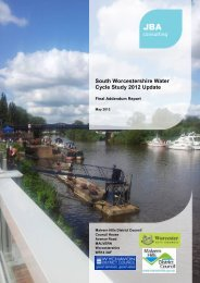 Water Cycle Study - South Worcestershire Development Plan