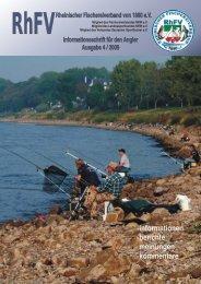 berichte aus den bezirken - Rheinischer Fischereiverband von 1880 ...