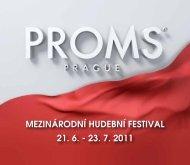 stáhnout v pdf - Prague Proms 2012