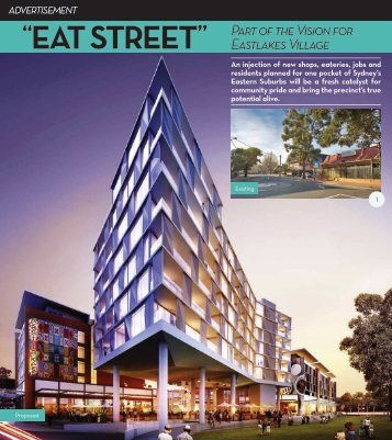 Open cafes and eateries beside the Eastlakes ... - Eastlakes Village