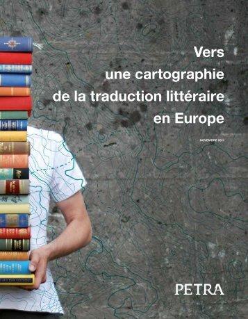 Vers une cartographie de la traduction littéraire en Europe - Petra