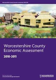 Worcestershire County Economic Assessment 2010-2011 (PDF 4.6 ...