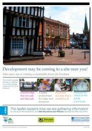 Evesham - South Worcestershire Development Plan