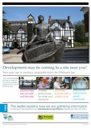 Droitwich Spa - South Worcestershire Development Plan