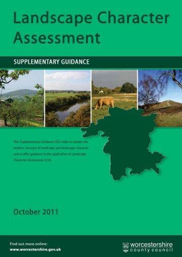 Landscape Character Assessment Supplementary Guidance