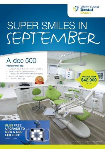 SUPER SMILES IN - West Coast Dental Depot