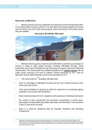Meeting Housing Needs of Communities - South Worcestershire ...