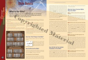 What Is the Bible? - Saint Mary's Press