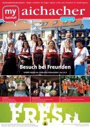 Besuch bei Freunden - MH  Bayern