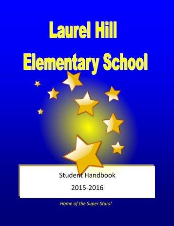 Student Handbook 2015-2016