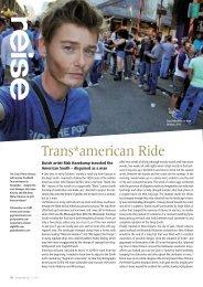 Trans*american Ride - Risk Hazekamp