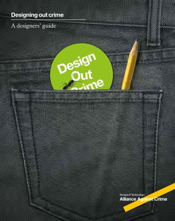 Designing out crime A designers' guide - Design Council