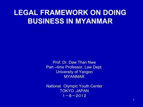 Myanmar foreign investment law full text al farida investments chairman bao