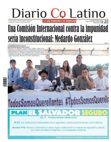 Edición 13 de Julio de 2015