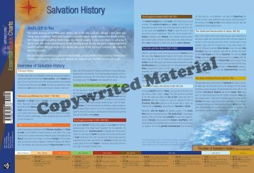 Overview of Salvation History God's Gift to You - Saint Mary's Press