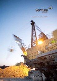 Annual Report 2012 - Sentula