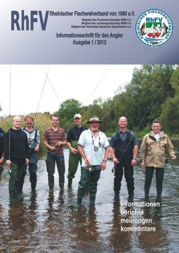 geschäftsberichte 2011 - Rheinischer Fischereiverband von 1880 eV