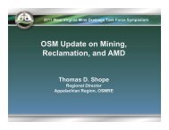 pdf 3.5mb - West Virginia Mine Drainage Task Force