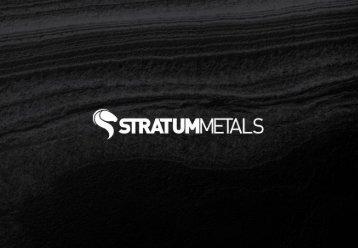 Download Presentation - Stratum Metals Limited